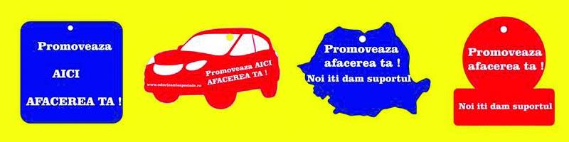 comenzi odorizante auto personalizate in tiraj mic